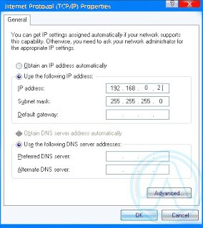 Transfer files between computers Using CrossOver Cable