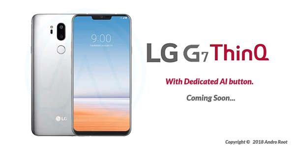 LG G7 ThinQ May Have Dedicated AI button