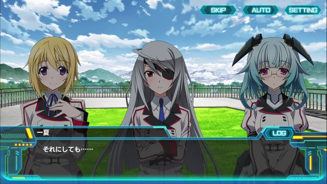 Infinite Stratos Archetype Breaker Mod Apk Free English DS 2 6