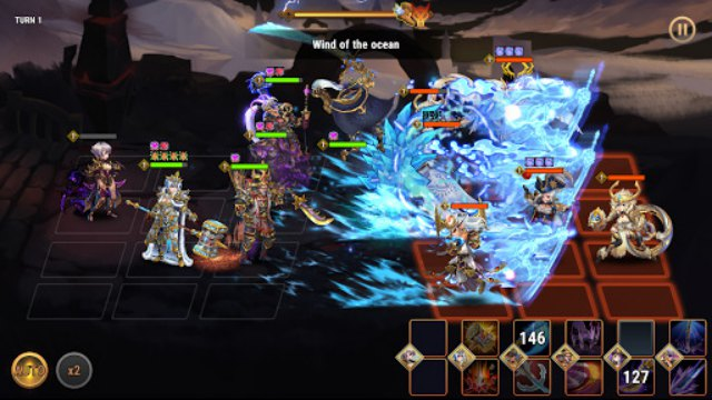 Fantasy League Turn based RPG Strategy APK Mod Download Free Gems Unlimited Gold Rainbow Gems XP points for Android on 1 happy pure v1.0.200730 2020 game 3
