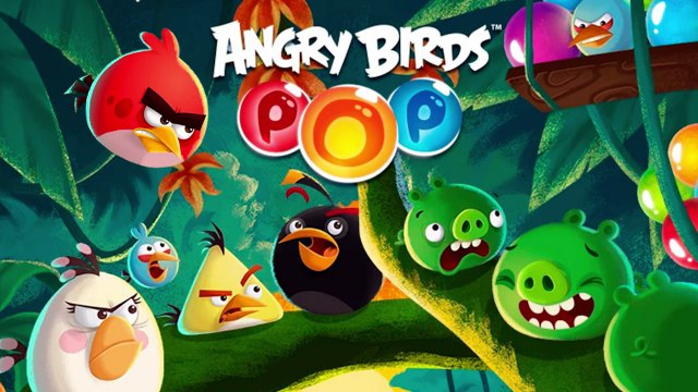 Angry Birds POP Mod APK gameplay bubble shooter free lives coins for Android money happy 1 pure unlimited boosters 8