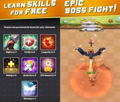 Arcade Hunter Mod Apk unlimited money gameplay everything for Android sword gun magic impact cheat gems 1 happy 8