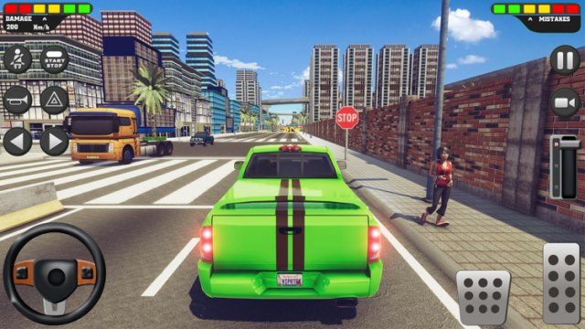 Driving School Sim MOD APK Unlimited Money Free Download Android unlocked 1 happy shopping latest Gameplay 7