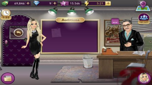 Hollywood Story Mod APK Download Free Shopping & Diamonds unlimited everything VIP Fashion Star 2020 happy 1 cash 8