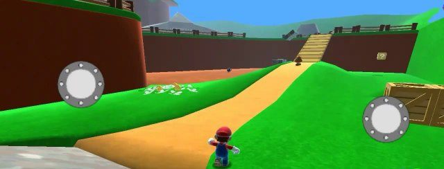 Super Mario 64 HD Apk mod free full download gameplay remake Android unlocked version 1 happy 2020 switch 8