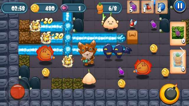 Bomber Classic Mod Apk Unlimited Money + god mode No ads Android latest version Bomberman happy pure 1 gameplay 6