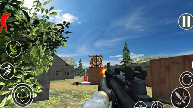 Commando Adventure Assassin Mod Apk unlimited money free download Android tested hack happy 1 pure game gameplay 7