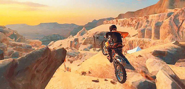Dirt Bike Unchained Mod Apk Unlimited Money + Fast Speed for Android APK + OBB data file happy pure 1 gameplay 9