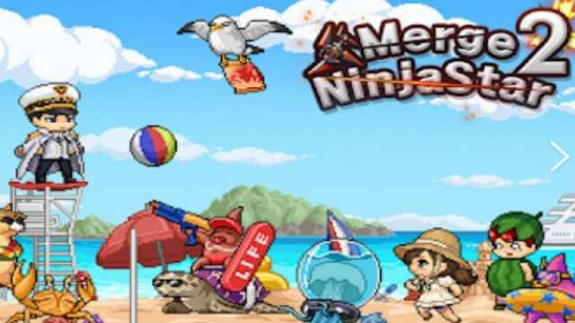 Merge Ninja Star 2 Mod Apk Unlimited Money + Rubies Free Download Android real gold unlock shopping happy 7