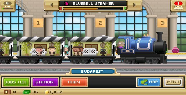 Pocket Trains Mod APK Unlimited Everything Money + Crates for Android happy pure 1 game free download 8