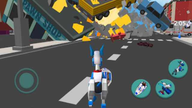 Robot Dog City Simulator Mod Apk Unlimited Money Download Free Android latest version happy pure gold coins 7 game