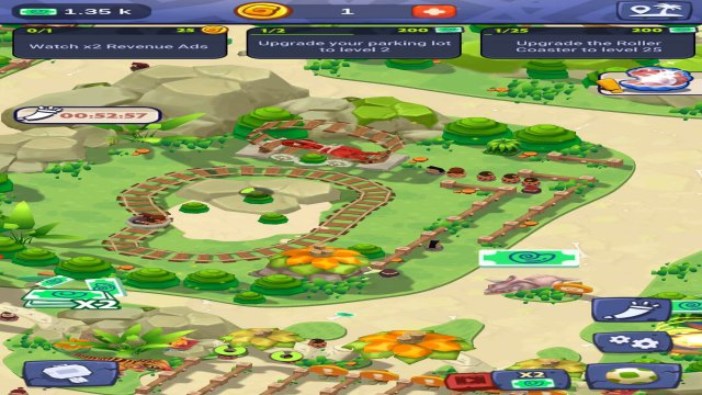 Stone Park Mod APK Prehistoric Tycoon Unlimited Gold Free download for Android No ADS feature happy pure 1 VIP money 6