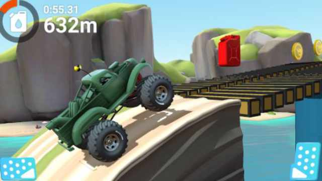 MMX Hill Dash 2 Mod Apk unlimited money free download fuel Android free shopping happy 6 gameplay latest