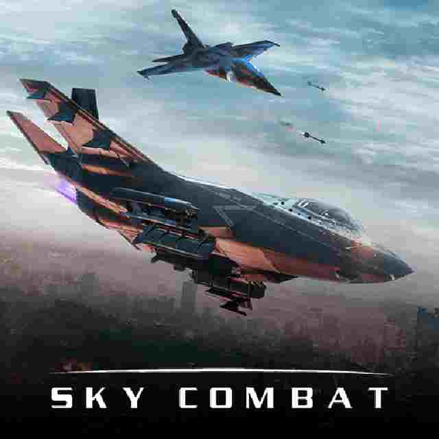 Sky Combat Mod Apk War Planes online unlimited money gold 6 5 2