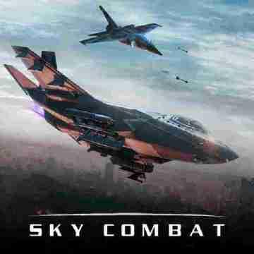 Sky Combat Mod Apk War Planes online unlimited money gold 6 5 2