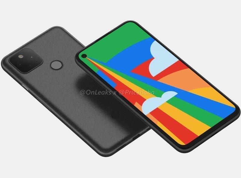 Google Pixel 5 Leaked Renders