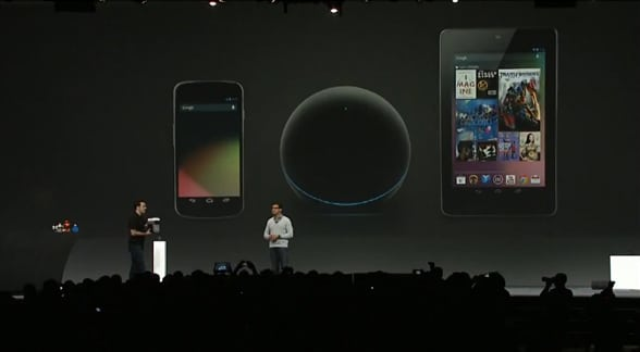 Galaxy Nexus, Nexus Q y Nexus 7
