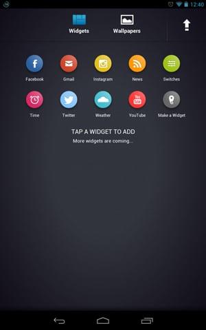 Nexus 7 - Chameleon Launcher