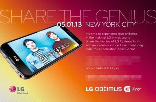 Optimus G Pro Share The Genius