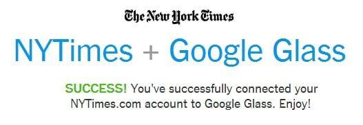 New York Times Glass