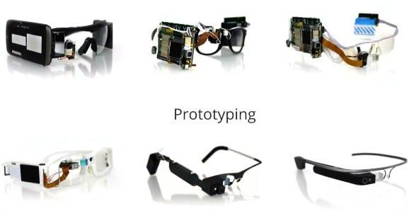 Prototipos Google Glass
