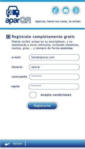 3_Página registro app