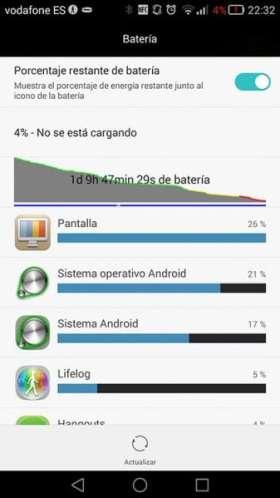 Huawei Ascend Mate 7-bateria