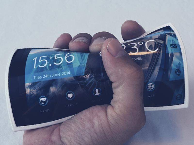 PORTAL, el primer Smartphone realmente flexible y que podremos llevar en la muñeca