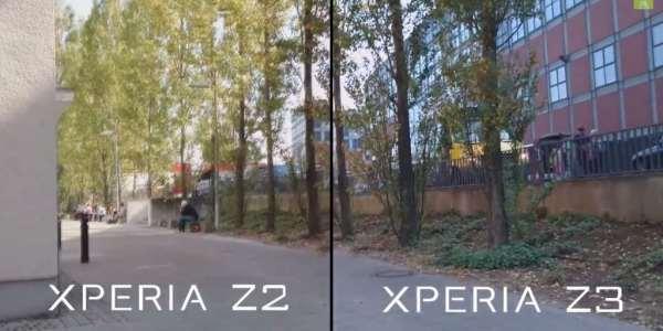 Z3 vs Z2 en video FullHD