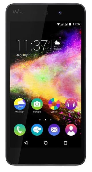Wiko_RAINBOW-UP_3G_black_front
