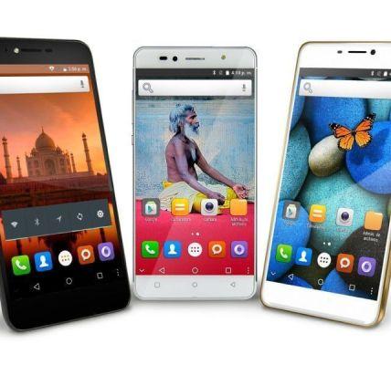 Smartphones Intex