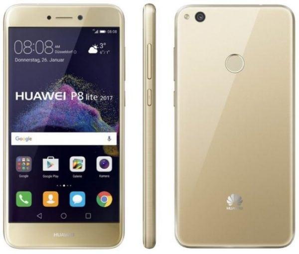 Huawei P8 Lite 2017 Dorado