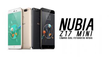 Nubia Z17 Mini encabezado