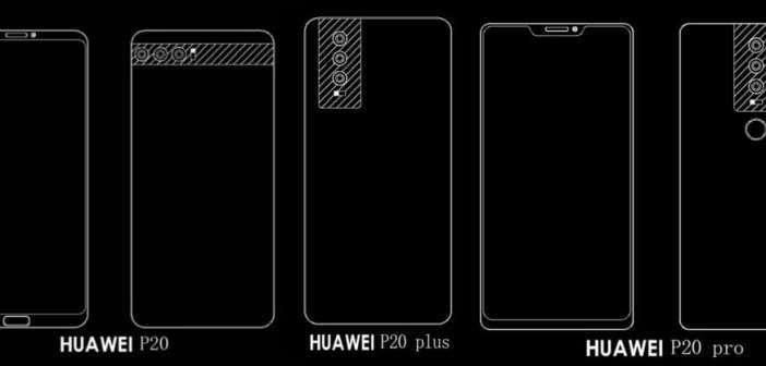 El Huawei P11, ahora P20, llegará en 3 variantes y con 3 cámaras traseras como característica común
