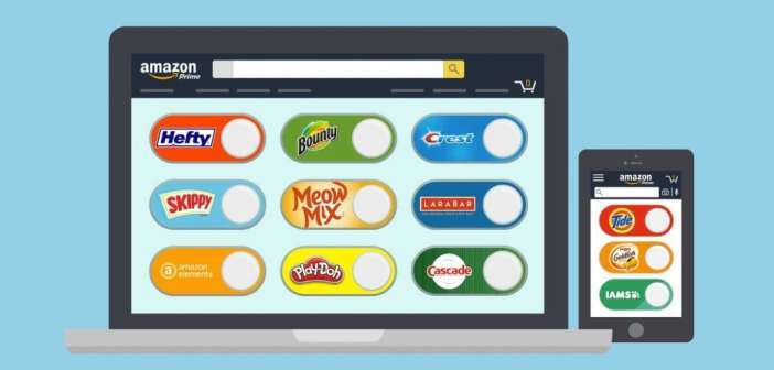 Amazon lanza los dash buttons virtuales