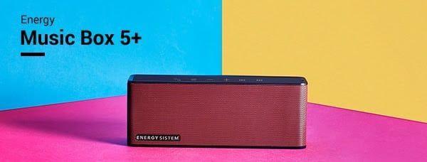 EnergyMusic Box 5+, un altavoz para conectar con casi todo en cualquier sitio
