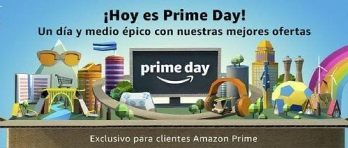 Hoy es el día. Llegó el Amazon Prime Day, miles de ofertas para los usuarios Premium ¡Échales un vistazo!