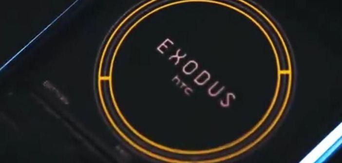 HTC EXODUS, un smartphone basado en Blockchain, que será presentado el próximo 22 de octubre