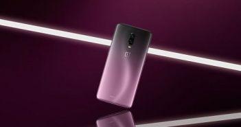 A partir de 15 de noviembre podremos disfrutar en España de la exclusiva edición Thunder Purple del OnePlus 6T
