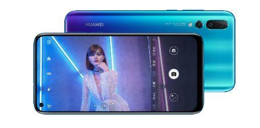 El Huawei Nova 4 ya es oficial con cámara trasera de 48 MP. Por cierto, adiós Notch, hola agujero en pantalla