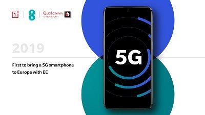 OnePlus ocupa la Pole Position de la parrilla de salida para lanzar el primer Smartphone comercial 5G de la historia