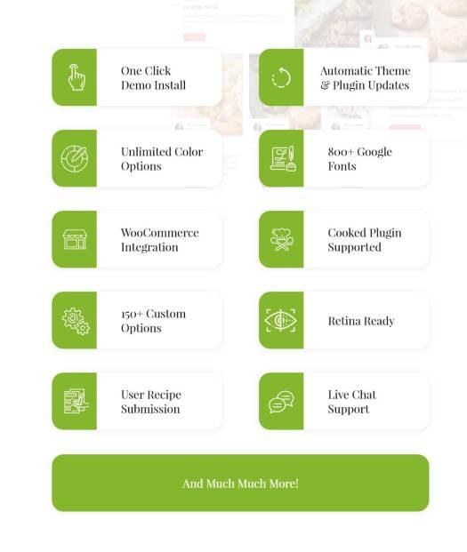 Cookiteer - Food & Recipe WordPress Theme - 4