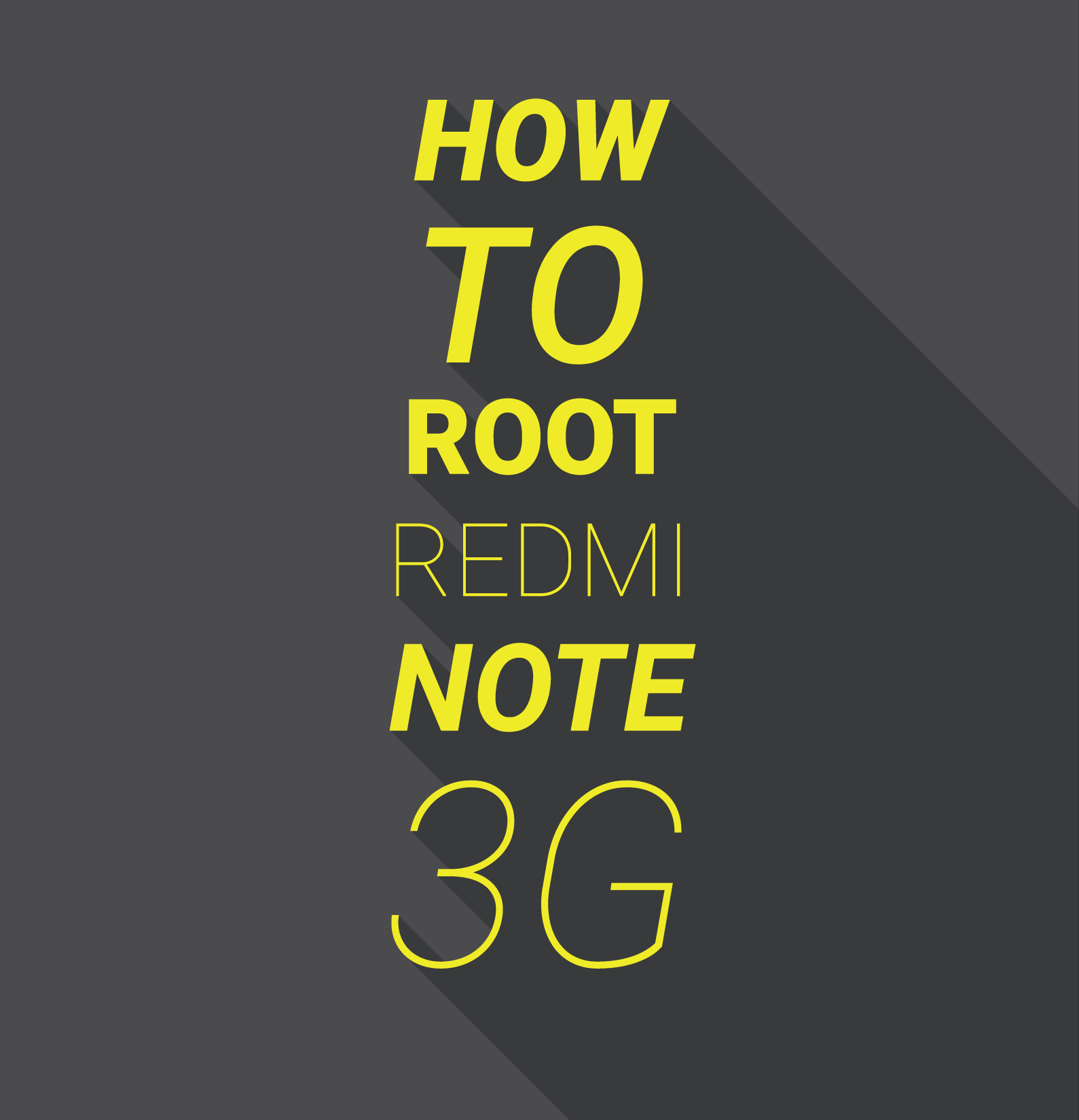 Rooting Xiaomi Smartphones : How To Root Xiaomi Redmi Note 4G