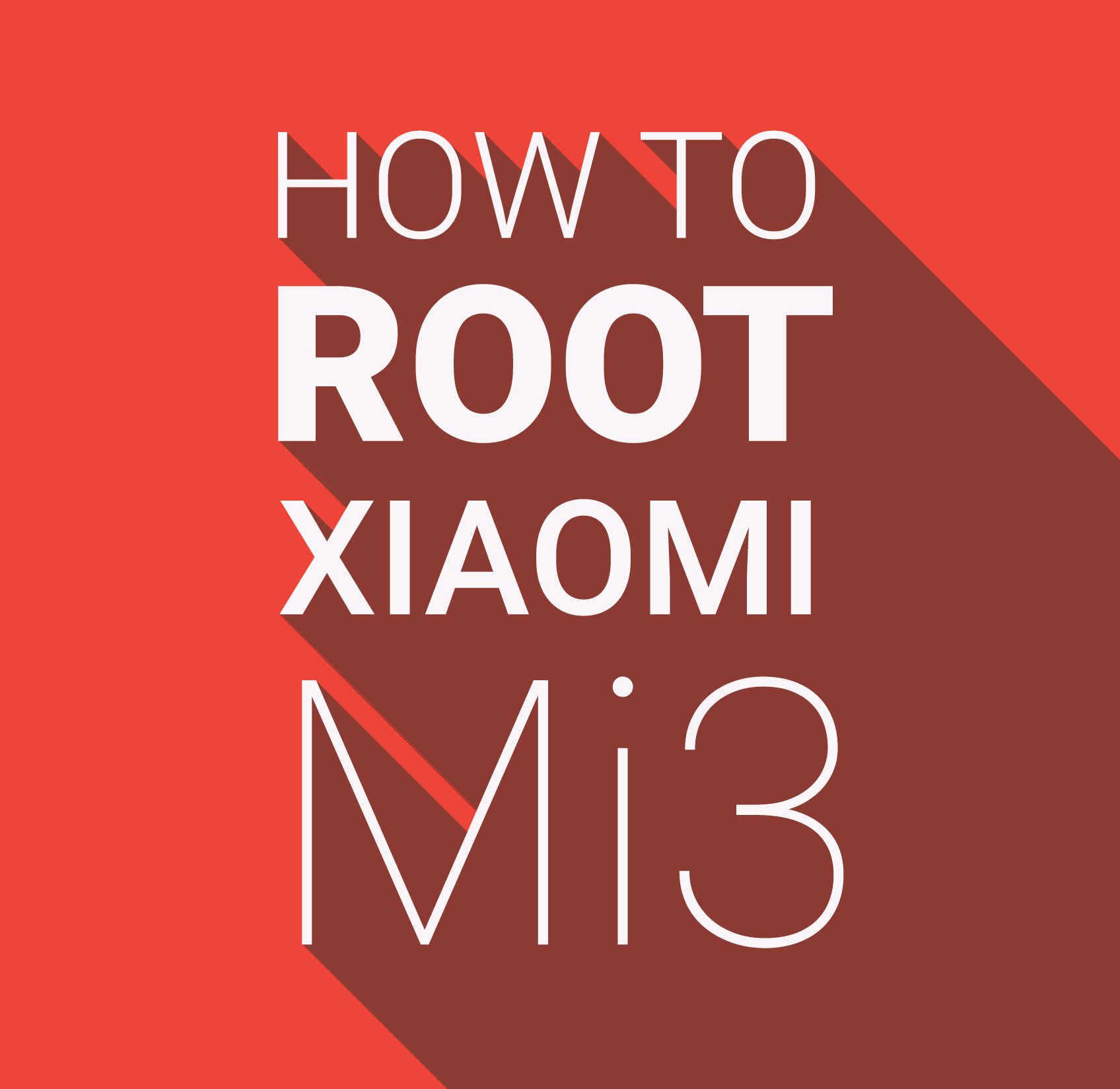 Rooting Xiaomi Smartphones : How To Root Xiaomi Mi3