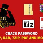CRACK PASSWORD – ZIP / RAR / PDF