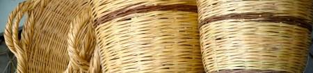 Hard cane baskets