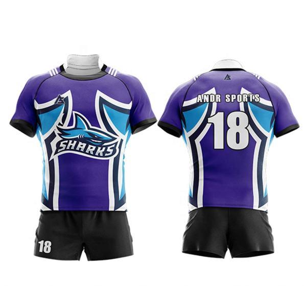 Rugby uniform andr sports RU008