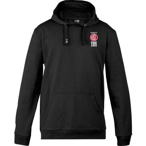 tuc-Sports-Karate-Club-Hooded-Top-Black