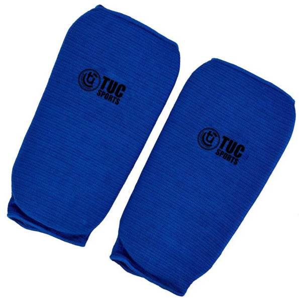 tuc-sports-elastic-shin-pads-Blue