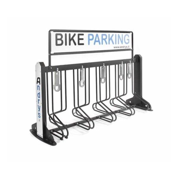 rastrelliera porta bici 9 posti